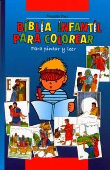 Kinder-Mal-Bibel, Spanisch