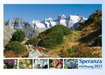 "Picture Calendar ""Hope"", German - Italian"