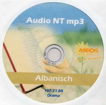 Audio NT MP3, Albanisch